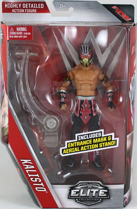 Kalisto - WWE Elite 42 Mattel Toy Wrestling Action Figure for USD25.99 #Toys #Hobbies #Action #Wrestling Like the Kalisto - WWE Elite 42 Mattel Toy Wrestling Action Figure? Get it at USD25.99!