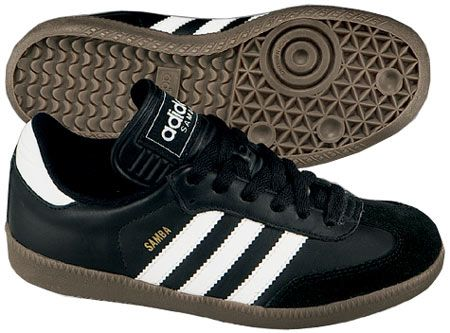 Adidas Samba.  Cheap, retro style and decent comfort.  Would NOT use these for running.