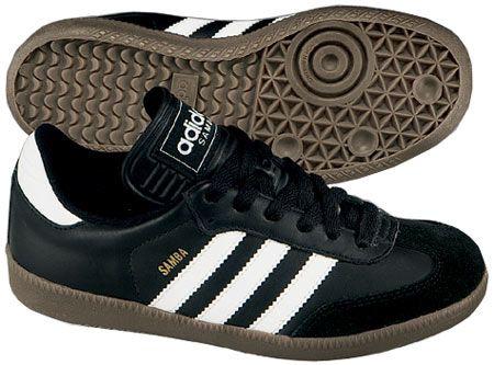 Adidas Samba.  Cheap, retro style and decent comfort.
