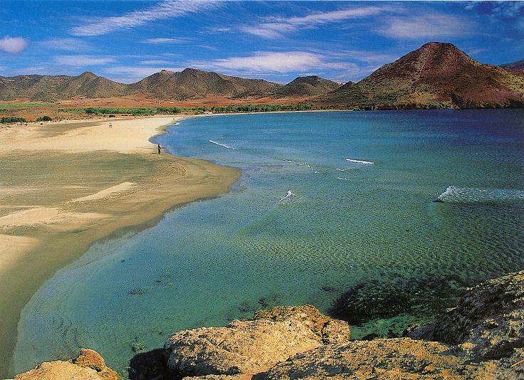 Natural Park Cabo de Gata View, Plomo's Beach, Agua Amarga, Nijar, Almeria (Spain)