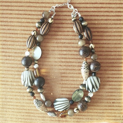 the lovelee girl: 365 - Zoology Necklace by Premier Designs #jewelry #tribal