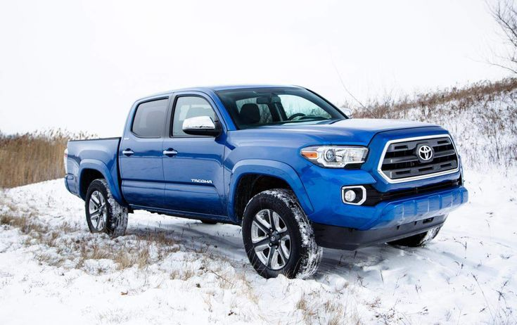 2016 Toyota Tacoma Blue Front