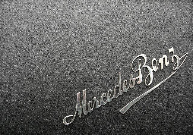 mercedes benz script