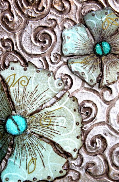 PaperArtsy: 2016 #10 Texture Doodles {by Laura Bomber}