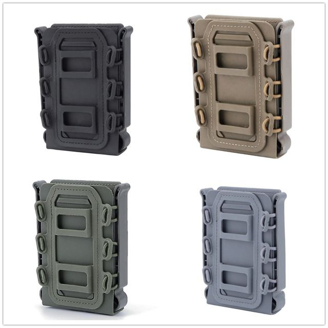 AR Mag Carrier Magazine Pouch Holster Holder Kydex 556 223 Black 10 round mags