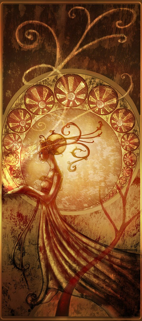 Nouveau by genesi-propheteya.deviantart.com: Art Nouveau, Fantasy Art, Artsy Stuff, Artists Inspiration, Adam Roush, Adamroush Deviantart Com, Art Deco, Beautiful Art, Fantasy Fascinators
