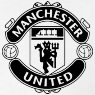 font of manchester united logo. Black Bedroom Furniture Sets. Home Design Ideas