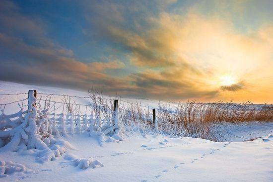 photographies de paysages d'hiver 103