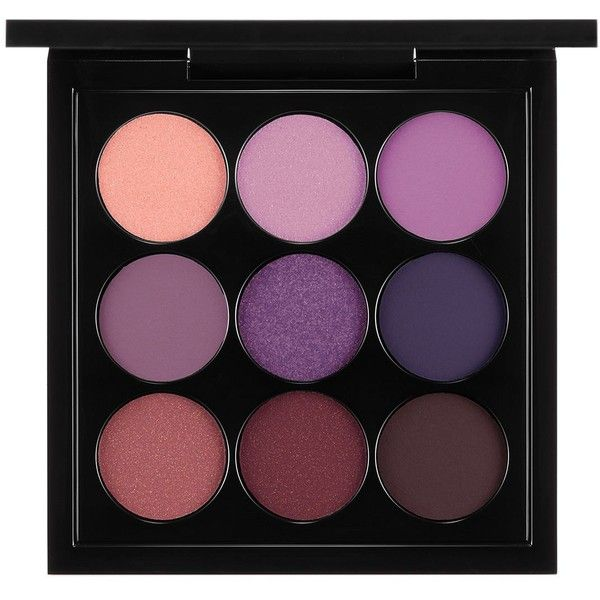 MAC Eyes x 9 Palette, Purple ($32) ❤ liked on Polyvore featuring beauty products, makeup, eye makeup, eyeshadow, beauty, eyes, cosmetics, purple times nine, palette eyeshadow and mac cosmetics