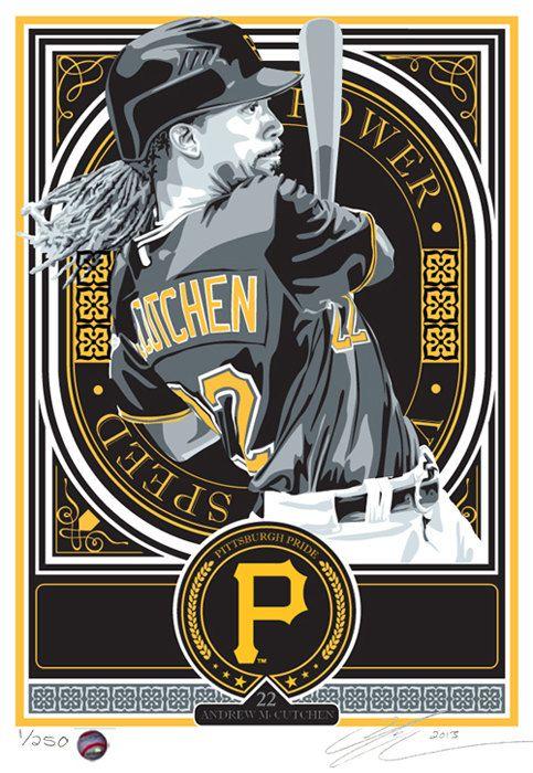 Andrew McCutchen Pittsburgh Pirates Baseball by SportsPropaganda