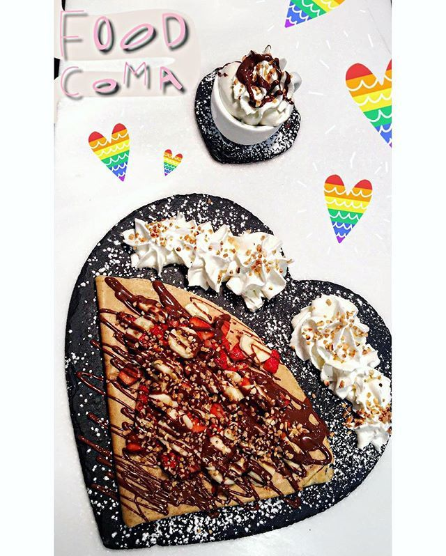 🌺💙 👻snapchat - @teamdelights 👻 #sun #redvelvet #kawaii #delights #dessert #waffle #crepe #sundae #gelato #icecream #strawberry #nutella #southall #london #ealing  #latte #foodporn #pancakes #coffee #cream #sweet #treat #cheesetwist #food #bakery #cookie #pancake #milkshake #lotus  Yummery - best recipes. Follow Us! #foodporn