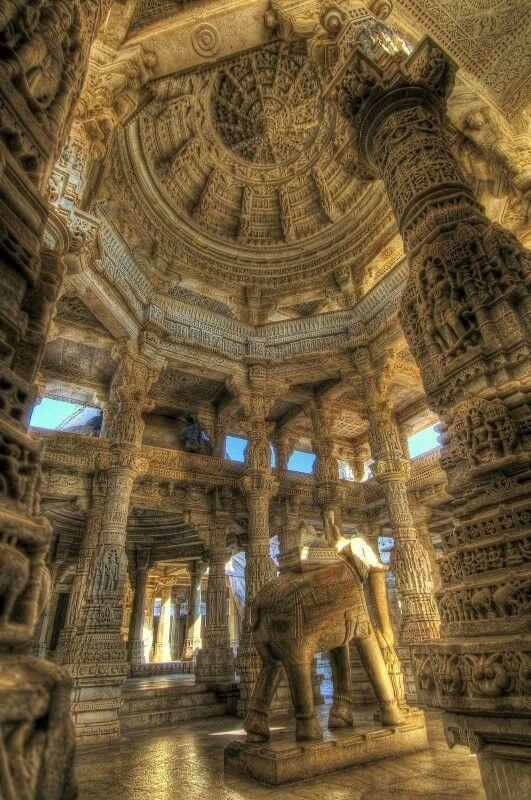 - Templo de Ranakpur Jain , Udaipur , India ./tcc/