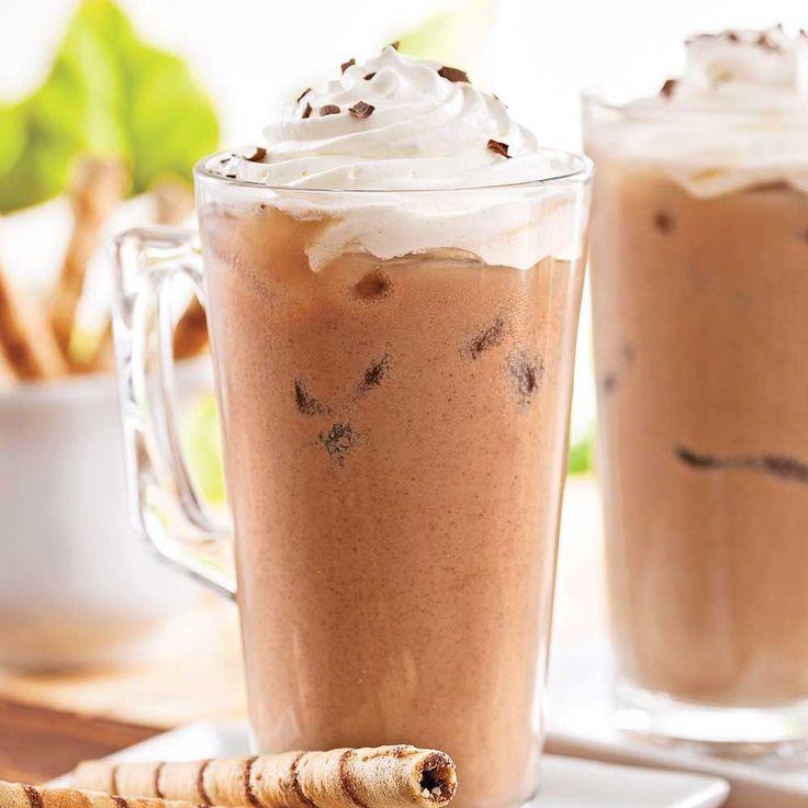 Cappucino glacé choco-amandes - Recettes - Cuisine et nutrition - Pratico Pratique
