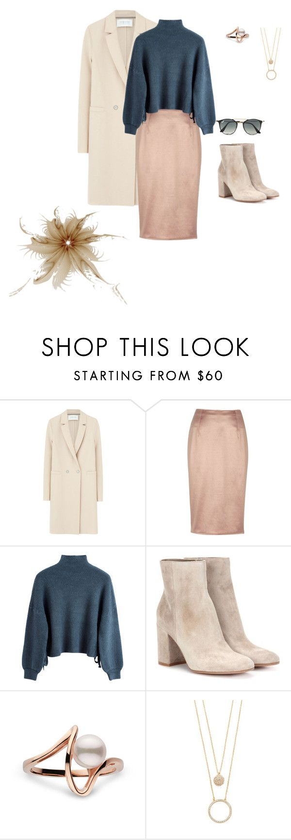 """""""2016.1.11"""" by joe-khulan on Polyvore featuring Harris Wharf London, River Island, Gianvito Rossi, Kate Spade and Ray-Ban"""