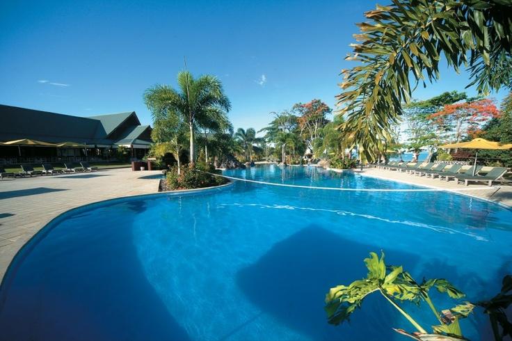 Swimming Pools at Aggie Greys lagoon/Beach Resort - Samoa