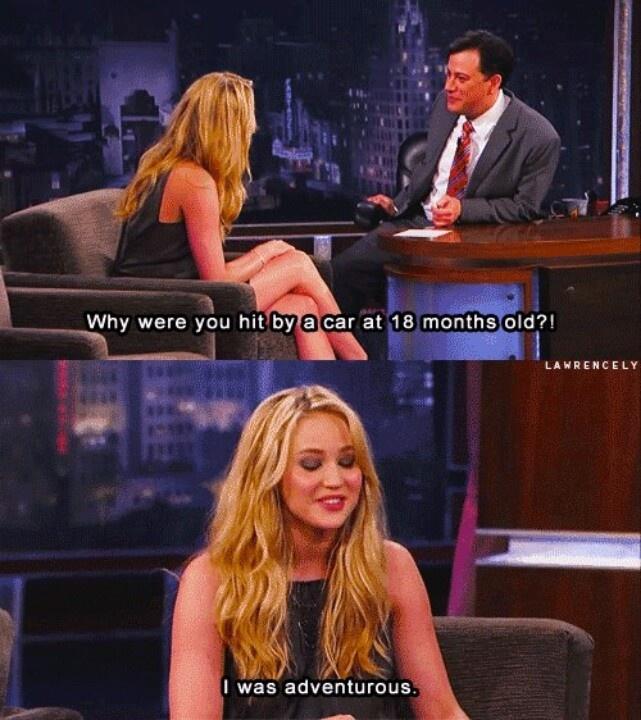 Only Jen. Lol