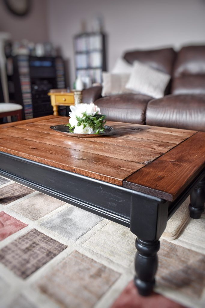 Rustic Coffee Table – A Makeover