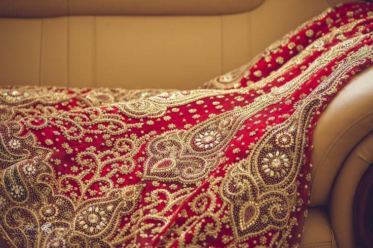 The Outfit - details  #IndianWedding #HinduWedding #Bridal #Wedding #Shaadi #IndianBride #Bride #BridalOutfit #WeddingOutfit #Lehenga #Sari #BridalLehenga