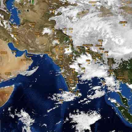 Best Satellite Images On Pinterest Goa India India And Indian - The best satellite maps