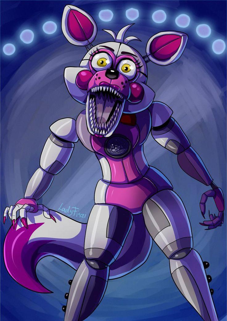 Funtime Foxy by LadyFiszi on DeviantArt