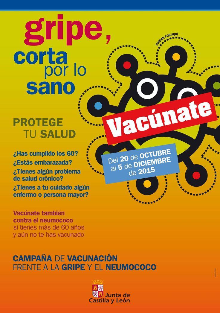 Puedes vacunarte desde el día 20 de octubre hasta el 5 de diciembre. Pide cita previa para ello en tu centro sanitario de Atención Primaria habitual y hazlo de forma escalonada a lo largo de los siete semanas que dura la campaña. #vacunas #gripe