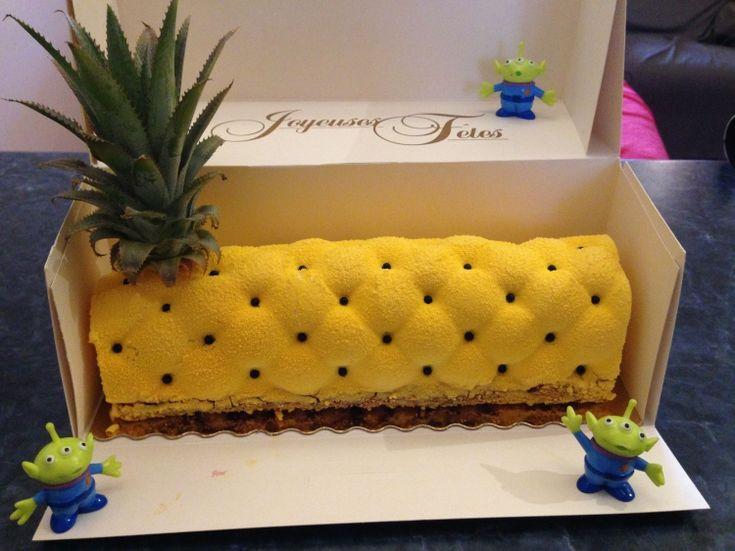 Gateau flexipan ananas