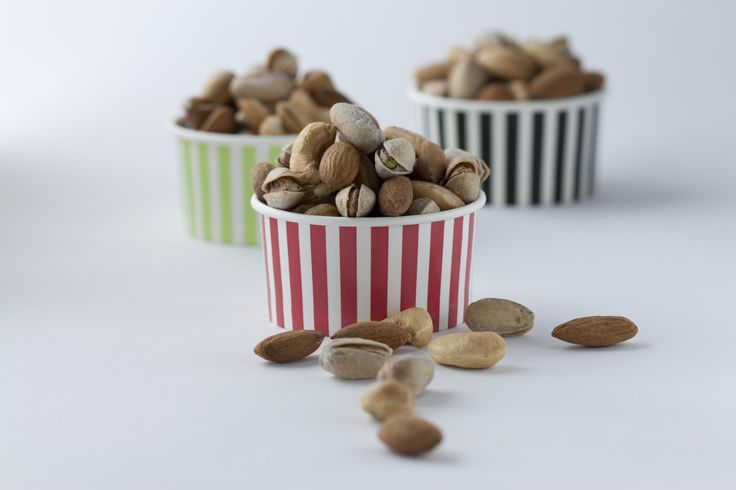 Home dry roasted nuts.