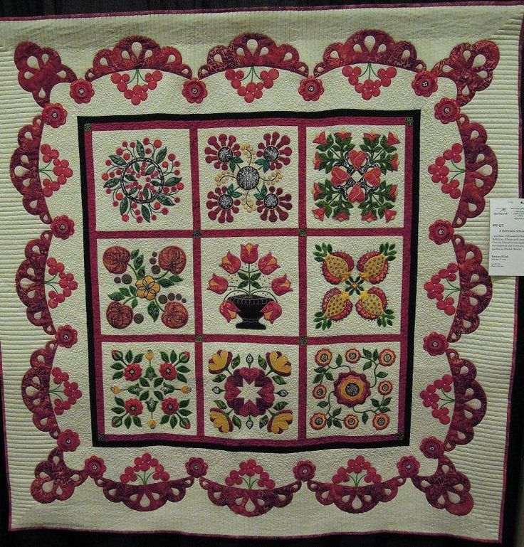 81 Best Baltimore Album Quilts Images On Pinterest Appliqu Quilts