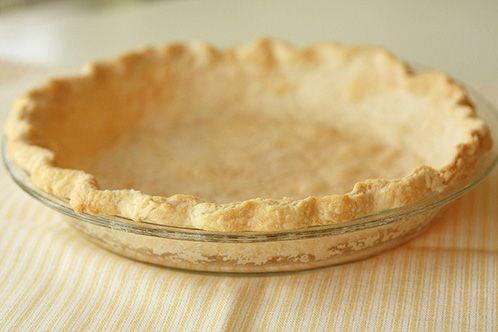 Lard pie crust- this was GREAT
