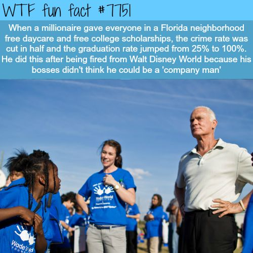 How a millionaire in Florida transformed a whole neighborhood - WTF fun fact