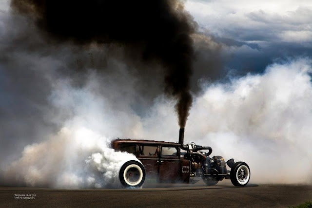 Diesel+RatRod=Awesome!