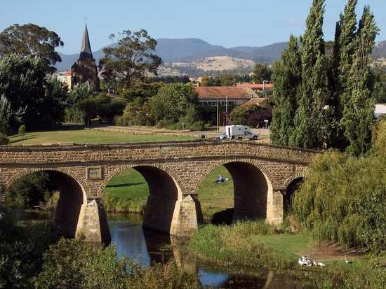 Tasmania, Australia ...Oldest bridge in Australia, beautiful place....