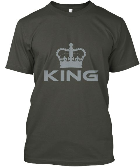 King Smoke Gray T-Shirt Front