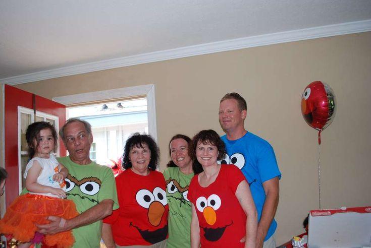 Elmo & Sesame Street Birthday Party Ideas   Photo 1 of 53