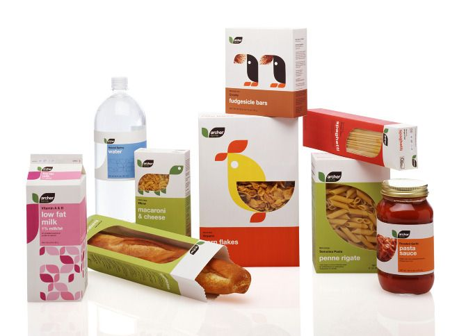 A simple design for a brand that uses a occurring shape across different products. Good design, good brand, good move.