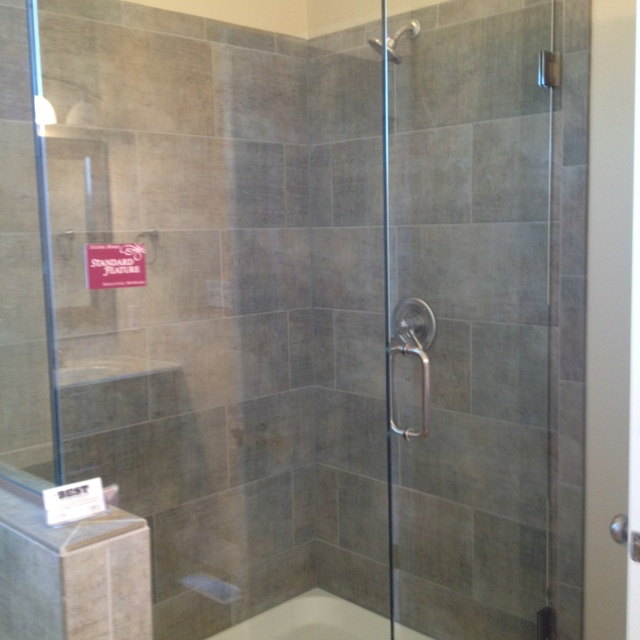 Glass Door Shower For The Home Pinterest Doors Glasses And Tile