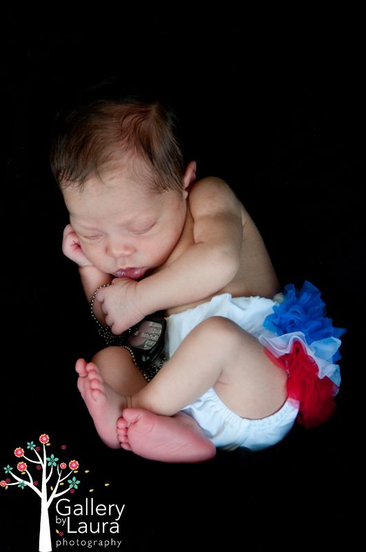 This woman's blog with military baby photos!