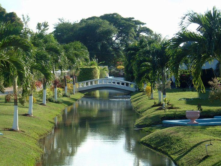 The Stunning Garden At Bridge Palm Resort In Clarendon