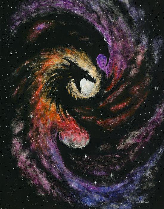 Dragon Galaxy by Stanley Morrison