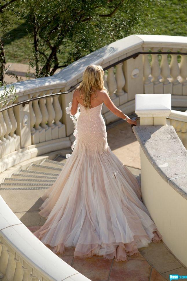 Tamra Barney wedding dress