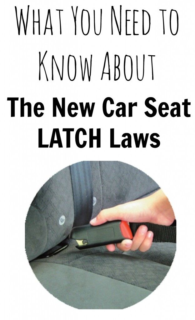 what you need to know about the new car seat latch laws carseats carseatsafety live from. Black Bedroom Furniture Sets. Home Design Ideas