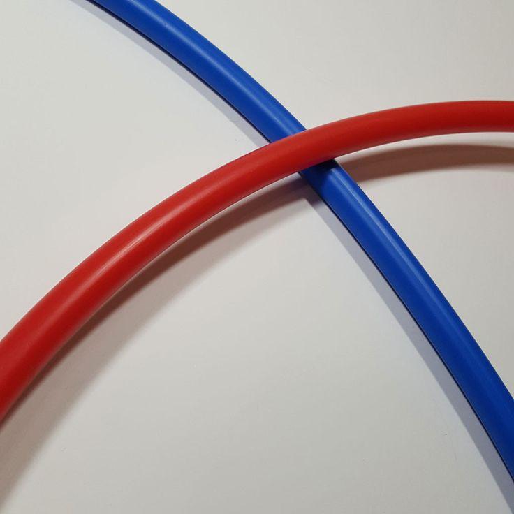 "Custom Diameter Naked 5/8"" OD PEX (Cross-linked Polyethylene) Hoop"