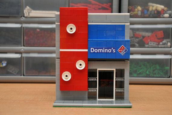 Custom City Pizza Delivery Restaurant Model by ABSDistributors, $120.00