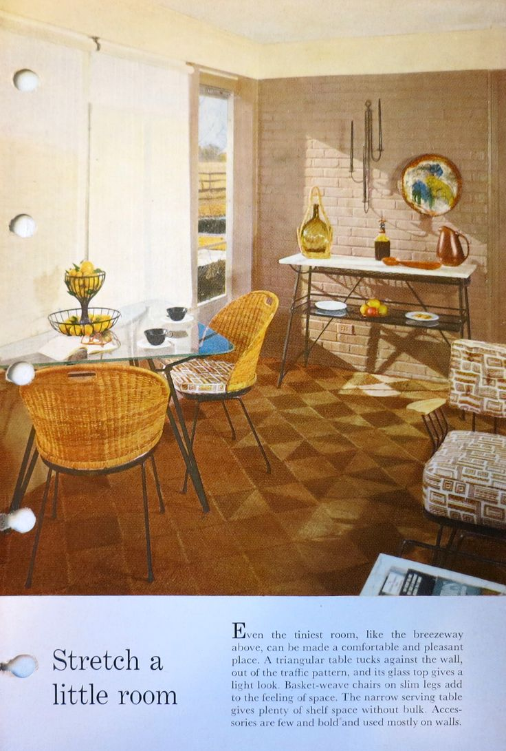 8 best Better Homes and Gardens 1950s decorating book images on ...