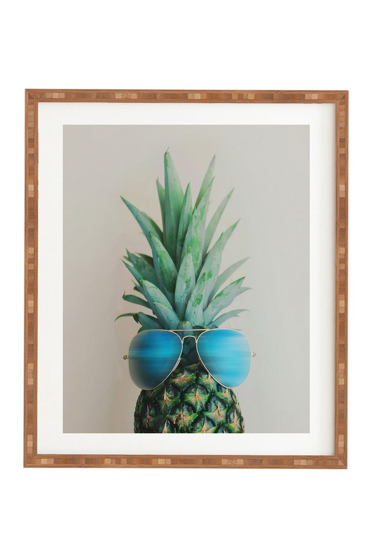 Chelsea Victoria Pineapple in Paradise Framed Wall Art by Deny Designs on @nordstrom_rack