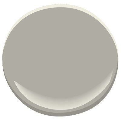 benjamin moore - cape may cobblestone 1474 This classic, elegant gray confers a sense of spaciousness that makes it ideal for small bedrooms and areas like hallways and mudrooms.