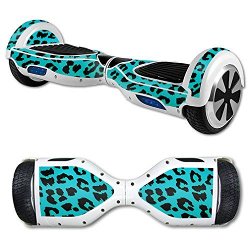 MightySkins Protective Vinyl Skin Decal for Self Balancing Scooter Hoverboard mini hover 2 wheel unicycle wrap cover sticker Teal Leopard MightySkins http://www.amazon.com/dp/B016WN7AVK/ref=cm_sw_r_pi_dp_gq0vwb1KYDXZF