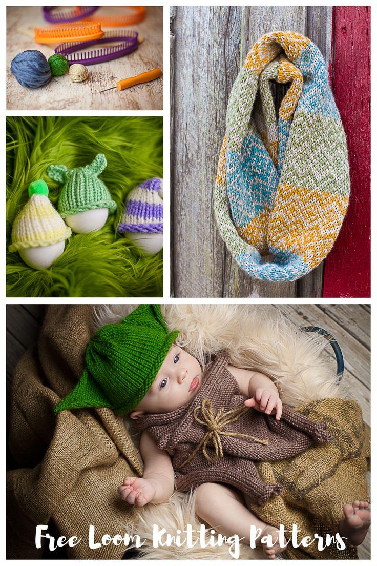 542 best Loom Knitting! images on Pinterest