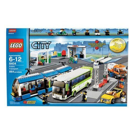 Amazon.com: LEGO City Set #8404 Public Transport: Toys & Games