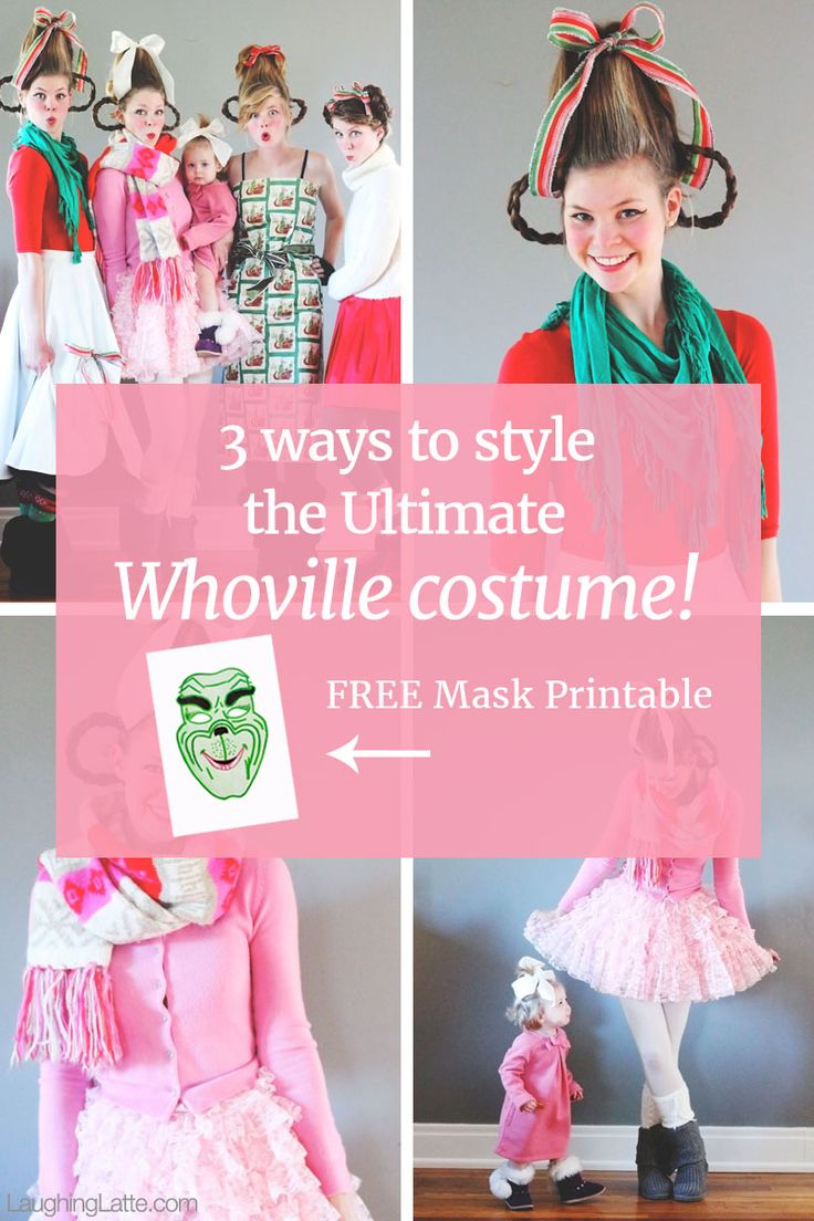 How to make your own grinch costume - 3 Ways To Assemble The Ultimate Whoville Costume From How The Grinch Stole Christmas